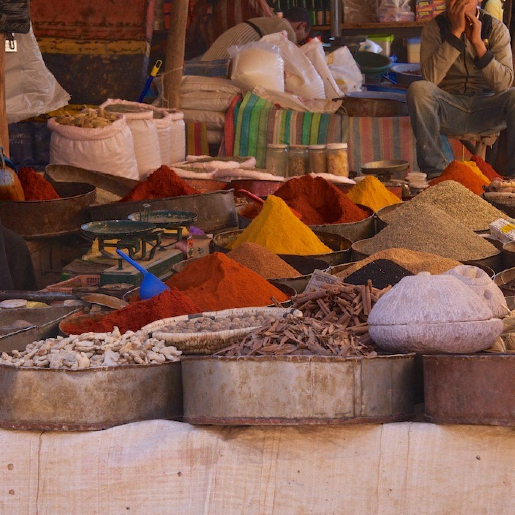 Kruidenmarkt Marrakech
