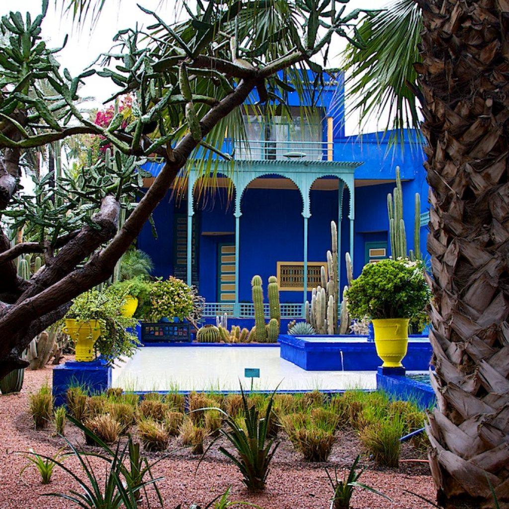 Marokko Majorelle tuin