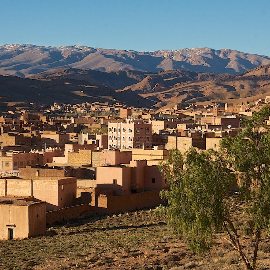 Marokko stadje Atlasgebergte