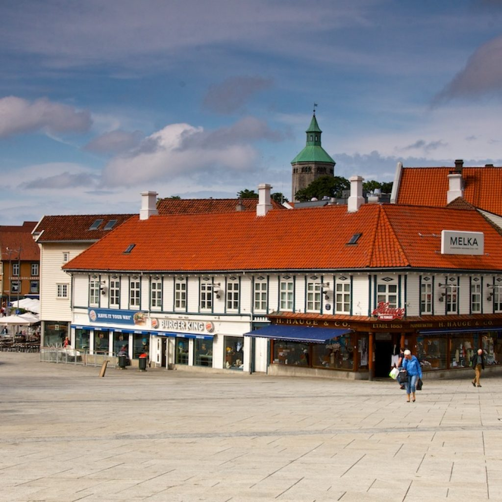 Dorp in Noorwegen