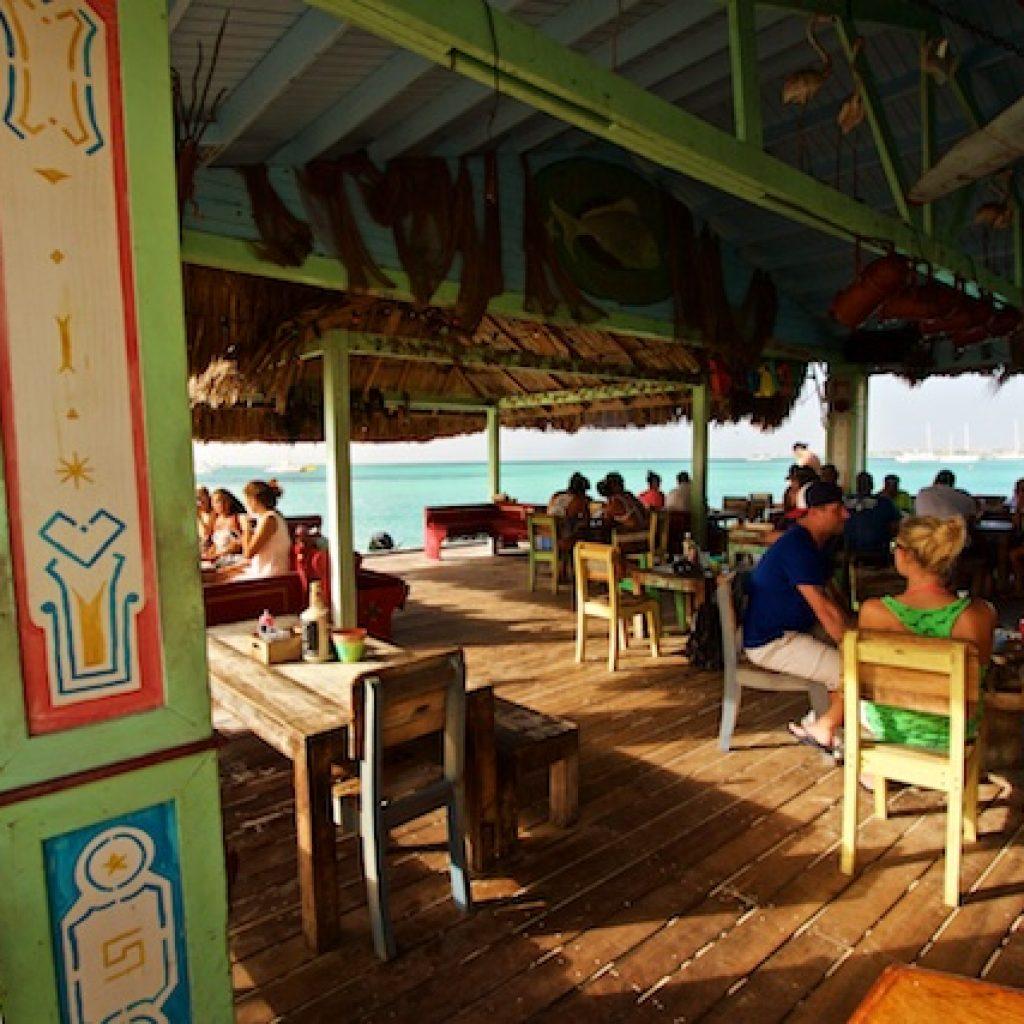 Palm Pier Beachbar Aruba