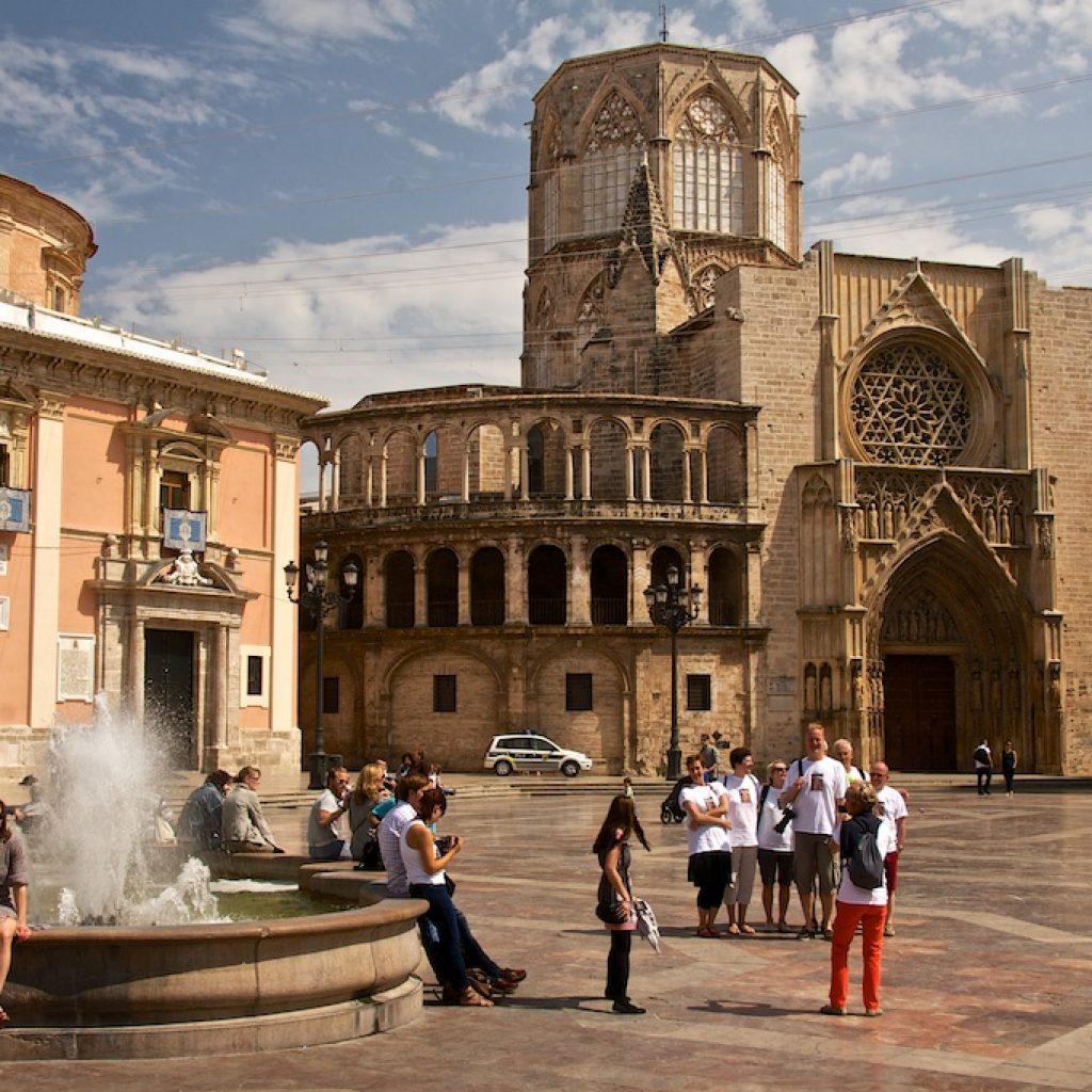 Valencia plein Spanje