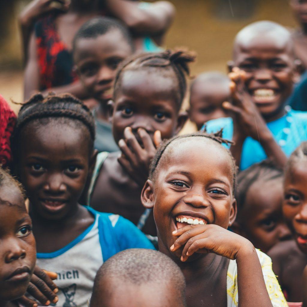 Kinderen in zuid Afrika