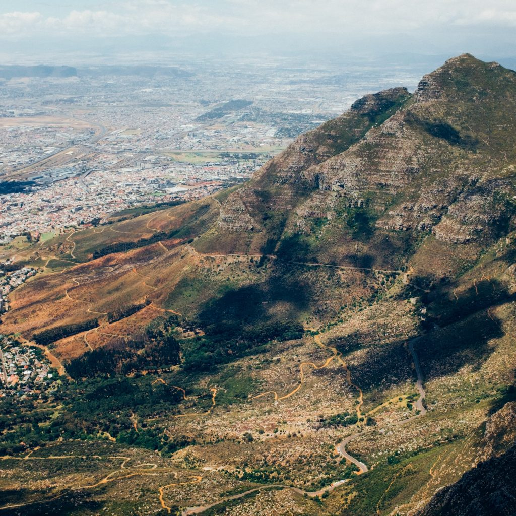 Tafelberg Zuid Afrika Cape Town