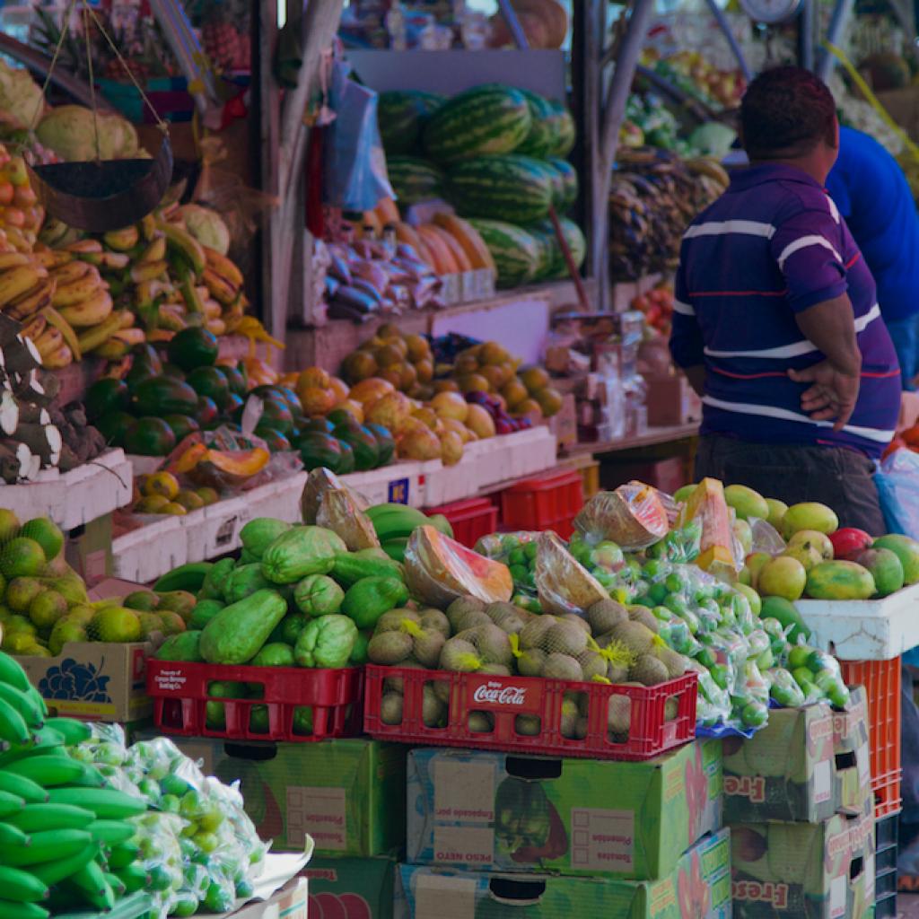 drijvende markt Curacao