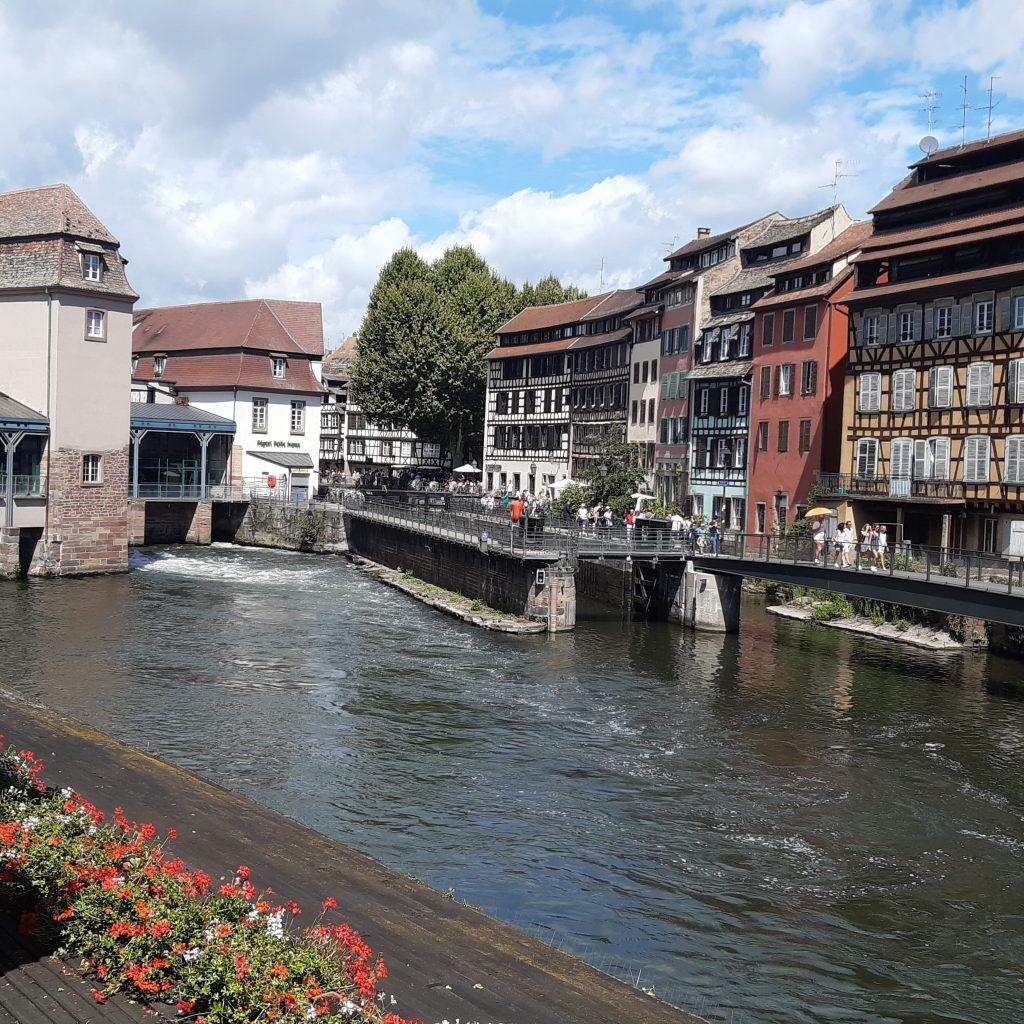 rivier door straatsburg