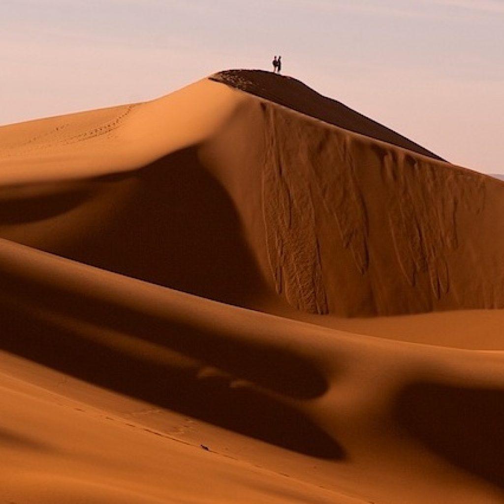 Erg Chebbi woestijn Marokko Afrika