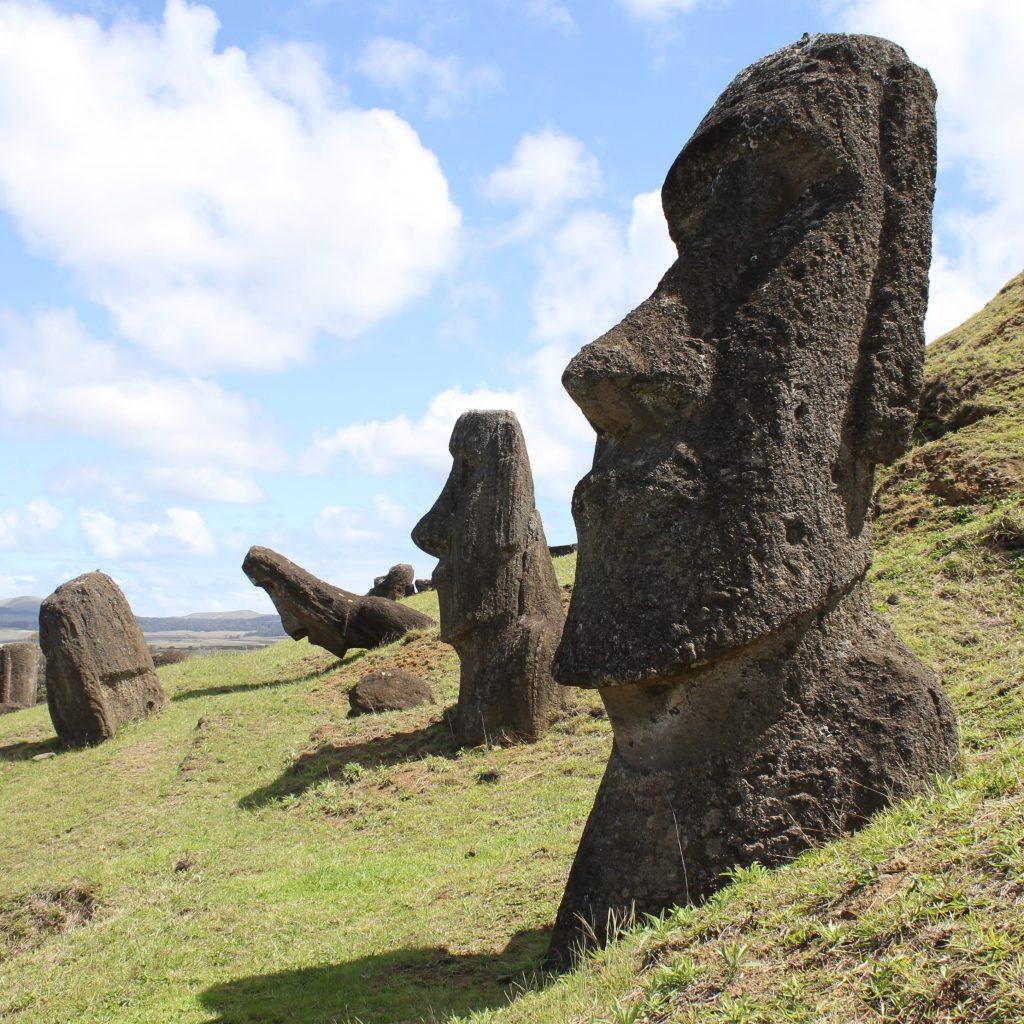 Moai Paaseiland Chili