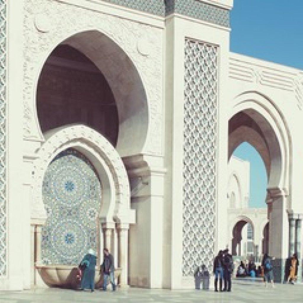 Casablanca Hassan II Moskee Afrika