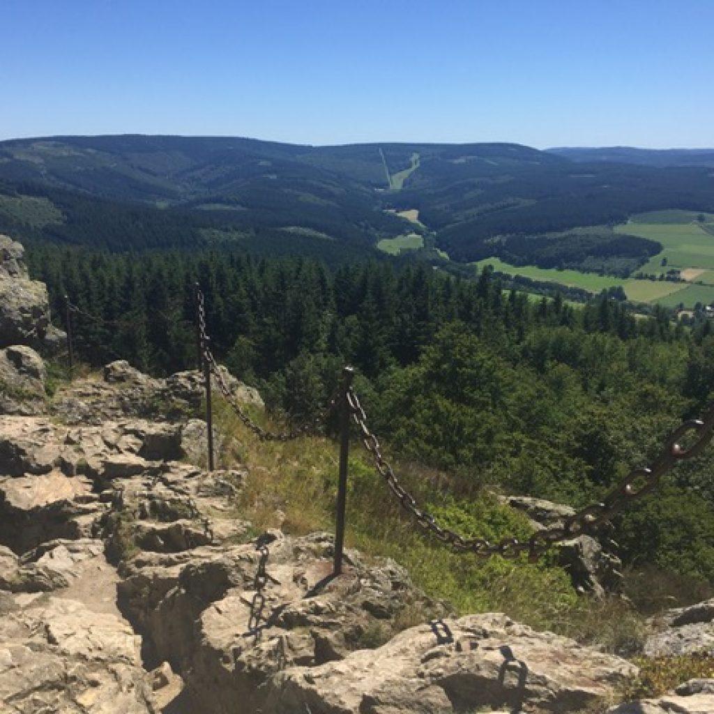 Duitsland Sauerland wandelen Olsberg